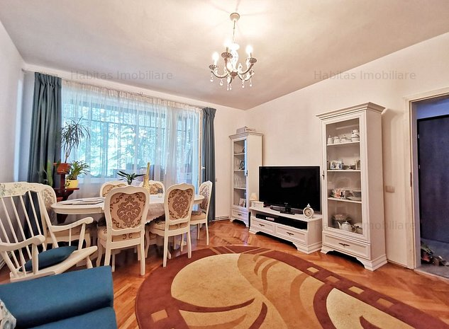 Apartament 2 camere, decomandat, mobilat, utilat, etaj 3\4, Plopilor - imaginea 1