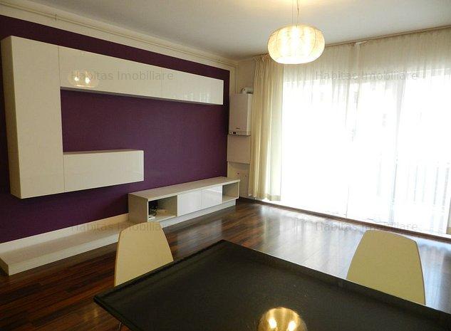 Apartament 2 camere, finisat si mobilat la cheie, etaj 1, in Buna Ziua - imaginea 1