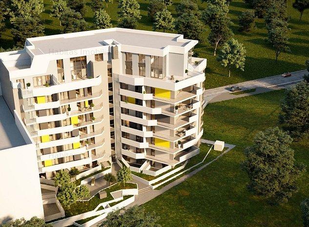 Apartament 2 camere cu CF, 58 mp, bloc nou, in zona Gheorgheni - imaginea 1