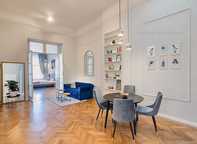 Apartament 4 camere, 123mp, ultrafinisat, zona B-ul Eroilor, Central - imaginea 1