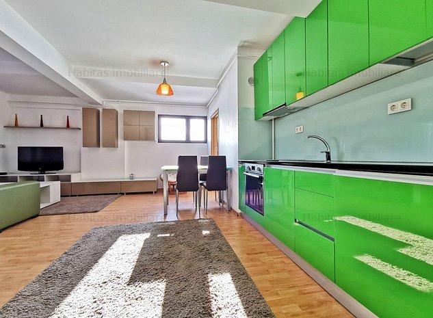 Apartament cu 2 camere, etaj intermediar, mobilat, utilat, la cheie - imaginea 1