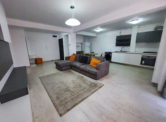 Apartament 2 camere, ultrafinisat, luminos, parcare, zona semicentrala - imaginea 1