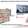 Apartament de vânzare 4 camere, în Cluj-Napoca, zona Iris