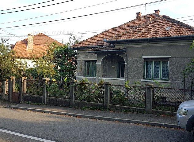 Casa veche cu teren de 540 mp si front de 28 ml, zona Andrei Muresanu - imaginea 1