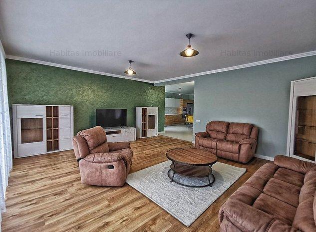 Casa 5 camere, ultrafinisata, mobilata, utilata, in Andrei Muresanu - imaginea 1