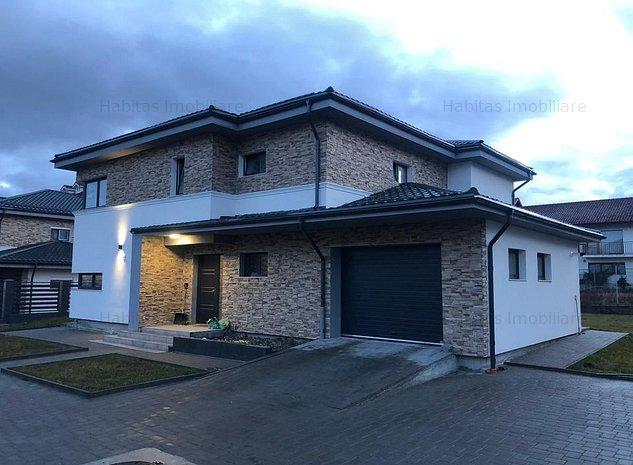 Casa individuala, spectaculoasa , tehnologie smart, garaj, Buna Ziua - imaginea 1
