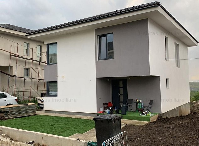 Casa individuala, finisata, teren 520 mp, Dezmir - imaginea 1