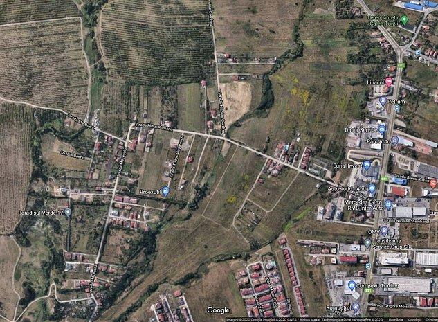 Teren intravilan 9357mp, front stradal 39m, zona Buna Ziua - imaginea 1
