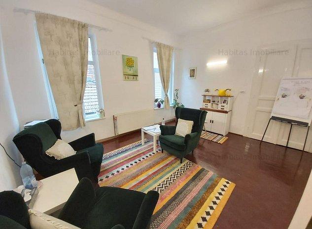 Spatiu birouri, renovat, 93 mp, in vila, str.Dorobantilor - imaginea 1