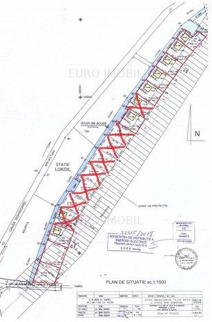 9 parcele de 650 mp, teren intravilan, Calea Sighisoarei - imaginea 1