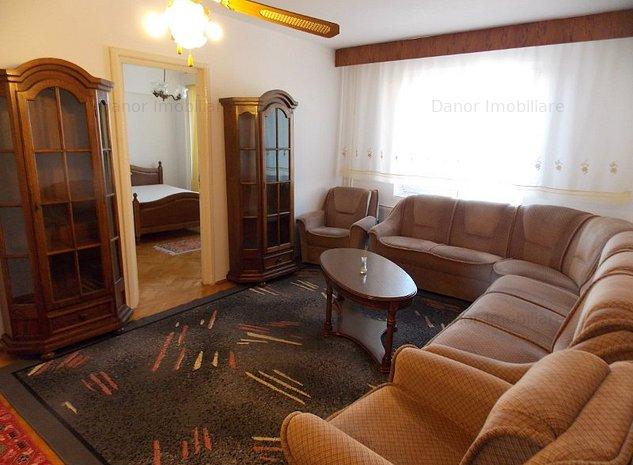 chirie apartament 3 camere central oradea - imaginea 1