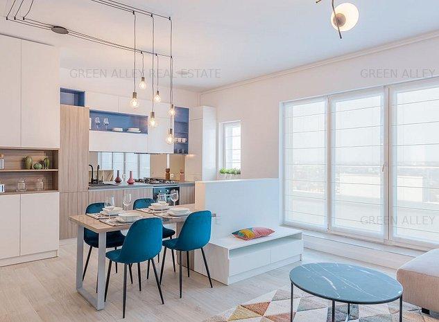 ESTIC PARK: Penthouse cu 3 camere  in zona Pantelimon Basarabia Sector 2 - imaginea 1