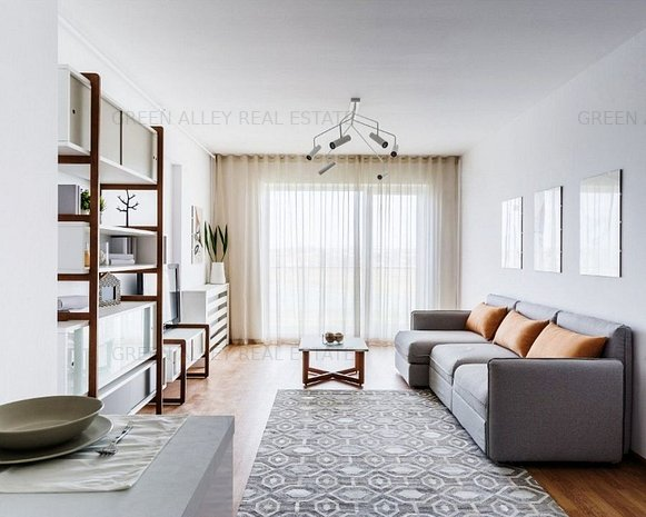 Estic Park : Apartament cu 2 camere de vanzare in apropiere de Mega Mall - imaginea 1