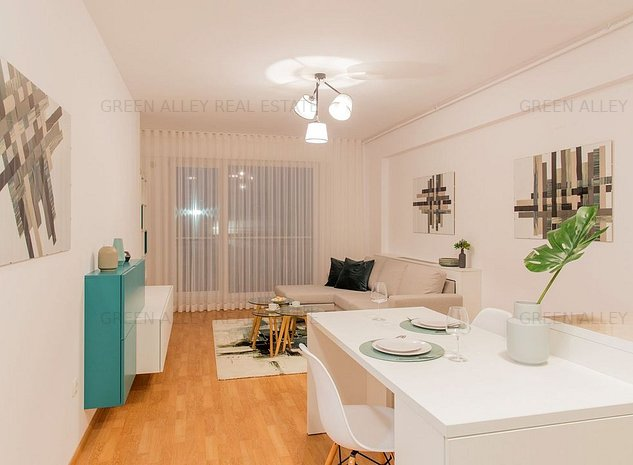 ESTIC PARK: Apartament 2 camere cu parcare inclusa si vedere la lac - imaginea 1
