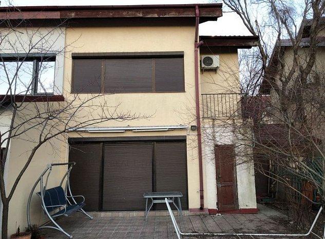 Vila de inchiriat in complex rezidential cu paza - Pipera - imaginea 1