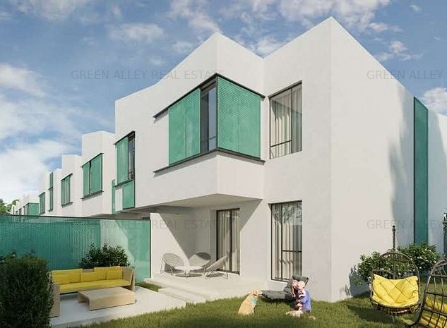 Casa 4 camere - Str. Verii // Proiect deosebit! - imaginea 1