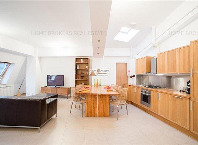 Inchiriere apartament 3 camere in bloc nou Unirii - imaginea 1