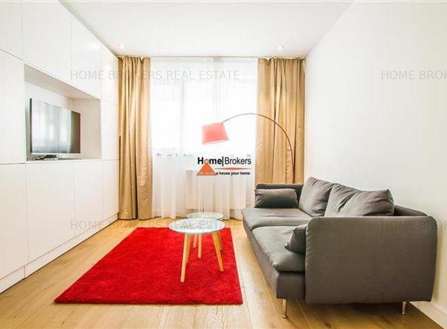 Inchiriere apartament 2 camere Herastrau Cortina Residence - imaginea 1