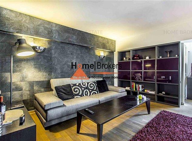 Inch.apartament/studio lux Dorobanti/mobilier Rovere - imaginea 1