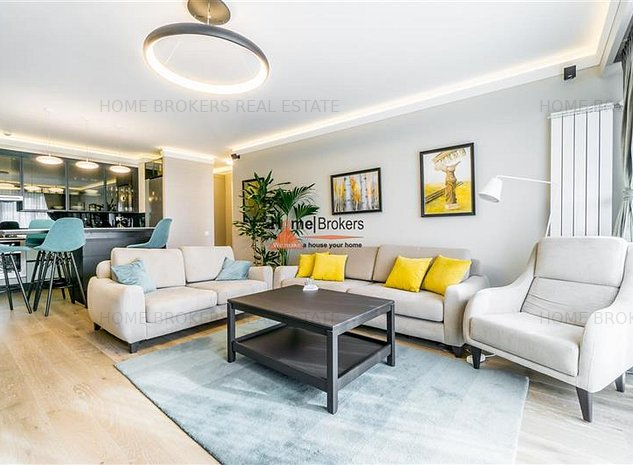 homebrokers.ro / Inchiriere 3 camere InCity Residences - imaginea 1