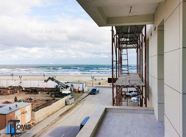 Apartament 2 camere in prima linie la Mare cu vedere Mamaia Nord - imaginea 1