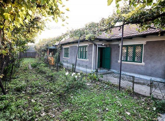 Casa de vanzare Constanta zona Pod Butelii - Medeea cu teren generos - imaginea 1