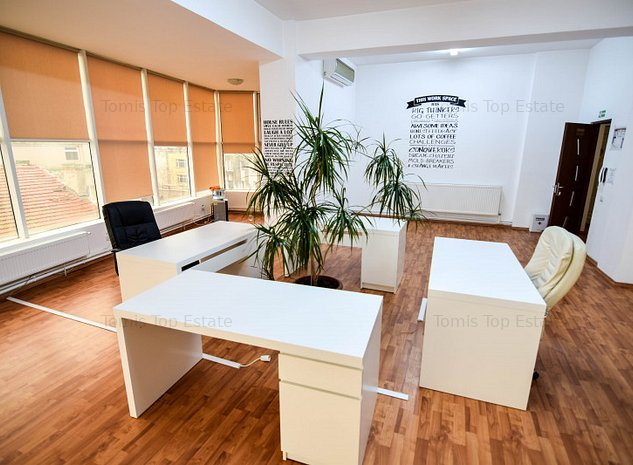 Spatiu de inchiriat birou zona Tomis Mall cu utilitati incluse - imaginea 1