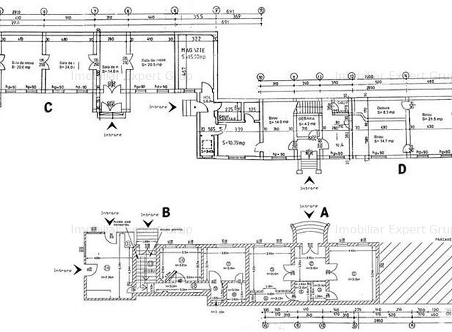 Zona Unirii - Imobil generos cu 35 camere si teren de 1750mp. - imaginea 1