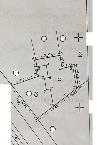 Unirii,teren 283 mp,desc 15 mi,P+4,CUT 3.2 - imaginea 1