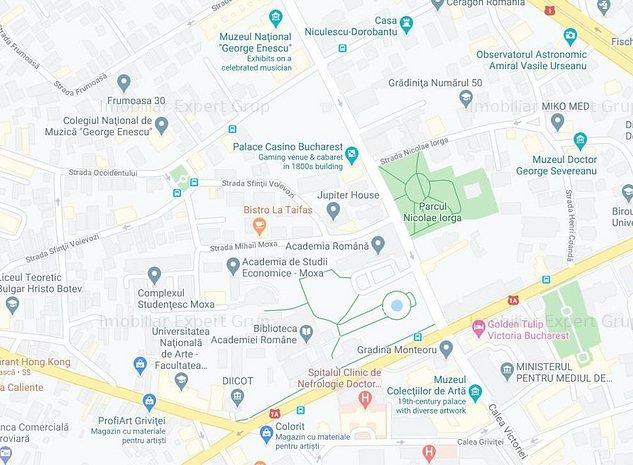 Romana-Victoriei,  800mp cu PUZ Aprobat: Locuinte Lux, Aparthotel, - imaginea 1