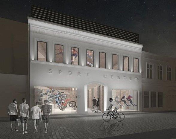 Centru Istoric - Spatiu comercial de 1.100 mp utili, 18.100 euro/luna. - imaginea 1