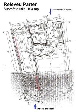 Spatiu comercial deosebit, avand cca. 700 mp utili, situal la Piata Alba Iulia. - imaginea 1