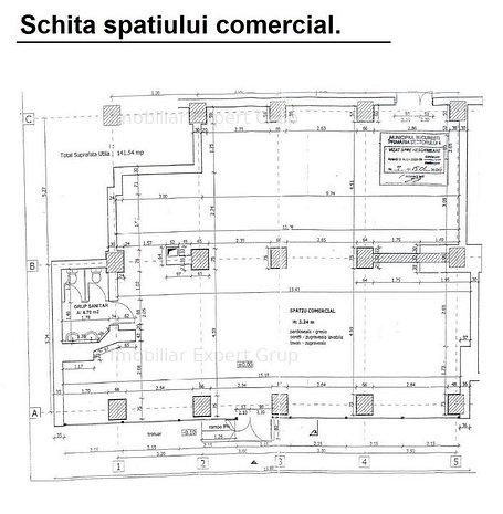 Spatiu comercial Metrou Brancoveanu, 142 mp, vitrina generoasa. - imaginea 1