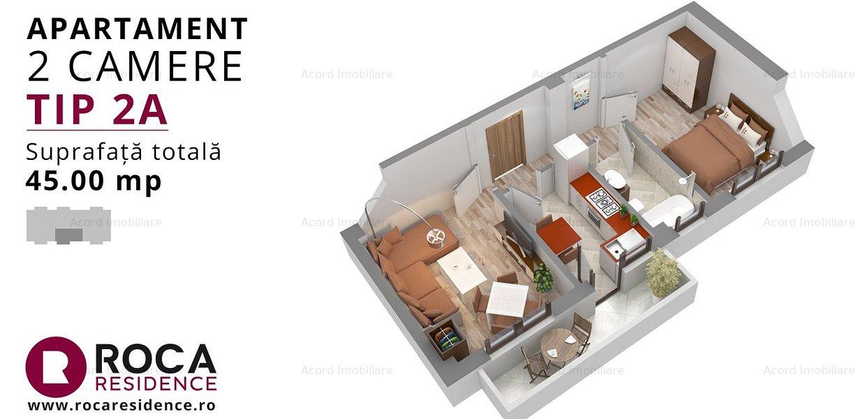 43.900 ap 2 cam decomandat complex rezidential Sos Nicolina - imaginea 14