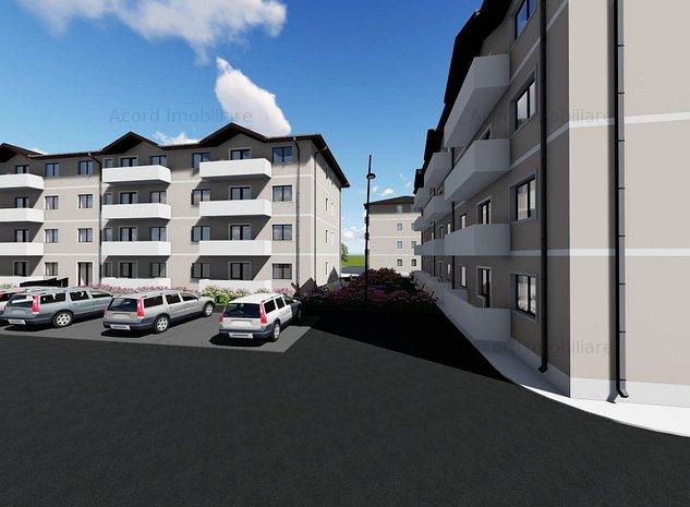 43.900 ap 2 cam decomandat complex rezidential Sos Nicolina - imaginea 1