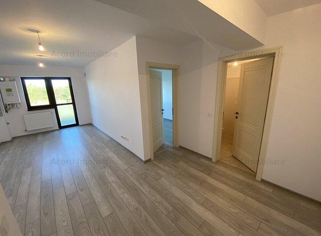 Apart 2 camere, etajul 1, bloc nou finalizat, predare imediata - imaginea 1