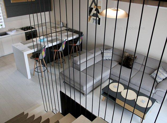 Deosebit! 2 dormitoare + sufragerie, 2 balcoane + terasa 38mp, parcare inclusa. - imaginea 1