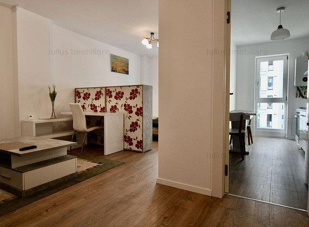 Apartament cu 1 camera, loc de parcare, centrala proprie, complexul Campeador - imaginea 1