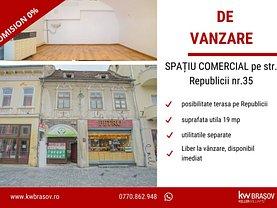Vânzare spaţiu comercial în Brasov, Centrul Istoric