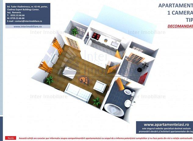 Apartament cu 1 camera lBucium-Visani,acces asfaltat - imaginea 1