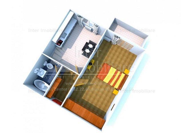Apartament cu o camera in bloc nou finalizat COD : 131318 - imaginea 1