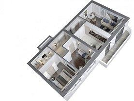 Apartament de vânzare 3 camere în Iasi, Frumoasa