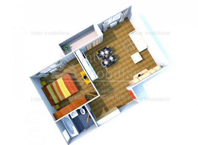 Apartament 2 camere Aleea Strugurilor COD : 138821 - imaginea 1
