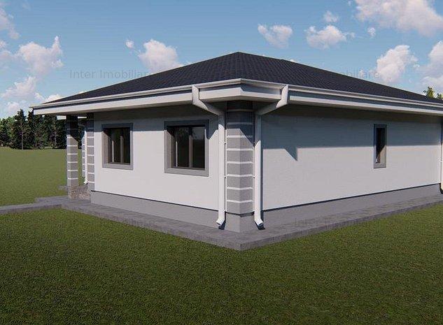 Casa plan parter cu 550 mp de teren in Valea Lupului - imaginea 1