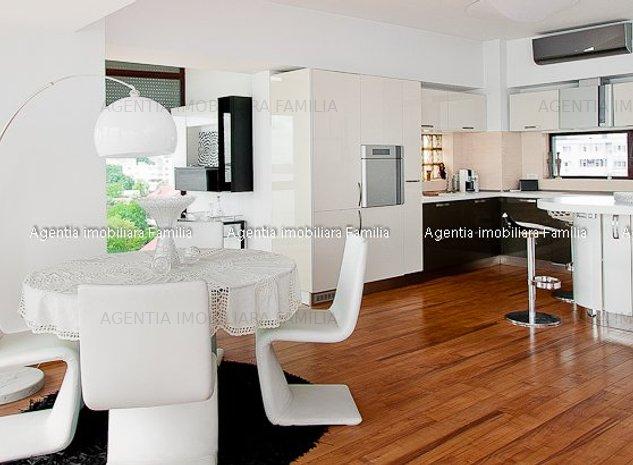 Vanzare Penthouse in Galati Faleza calitate excelenta complet mobilat utilat - imaginea 1