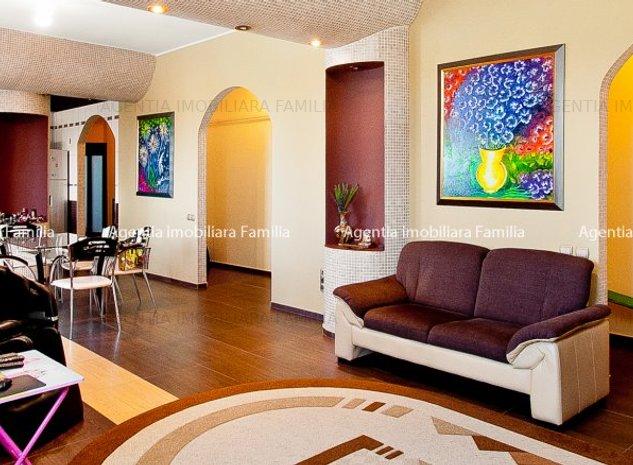 Vanzare apartament 4 camere Galati Centru bloc Miorita 135 mp - imaginea 1