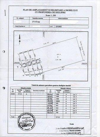 Eforie Sud - Teren intravilan, 27.110 mp - 25 euro/mp  - imaginea 1