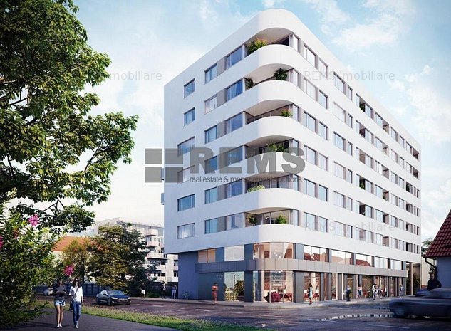 Apartament cu 1 camera, 43.3 mp + 8.2 mp balcon, Iris, zona Garii - imaginea 1