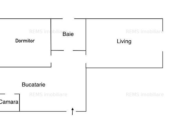 Apartament cu 2 camere, decomandat, str. Luceafarului - imaginea 1