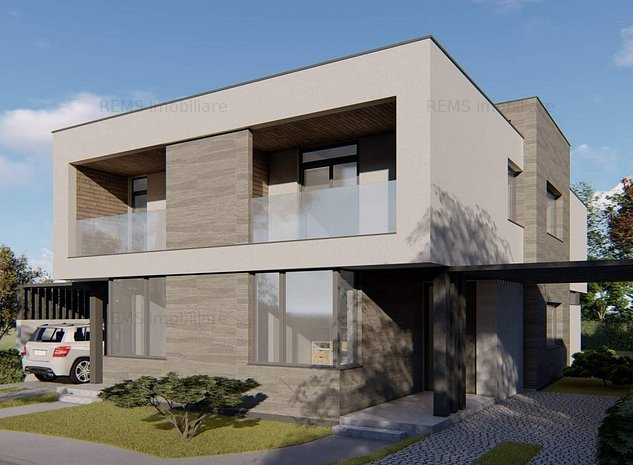 Casa 5 camere, in sistem cuplat, Europa - imaginea 1